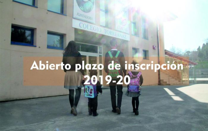 Colegio Torreánaz inscripción